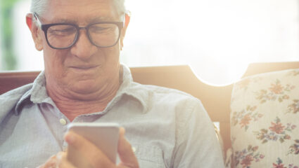 ouderen appen liever