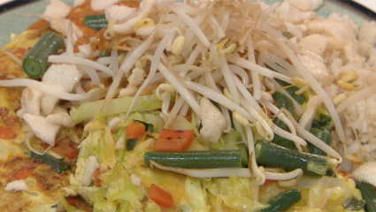 gado gado-omelet
