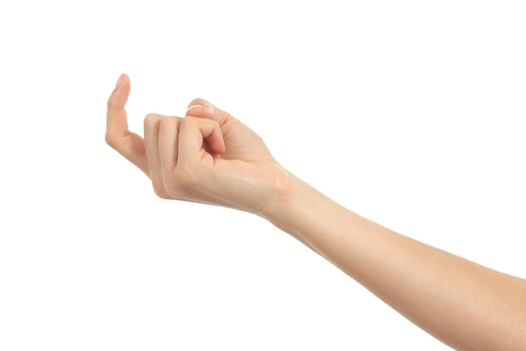 wenkende vinger