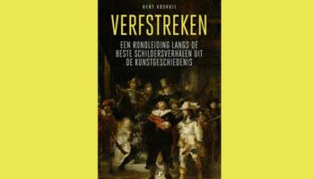 Verfstrken van Bert Voskuil