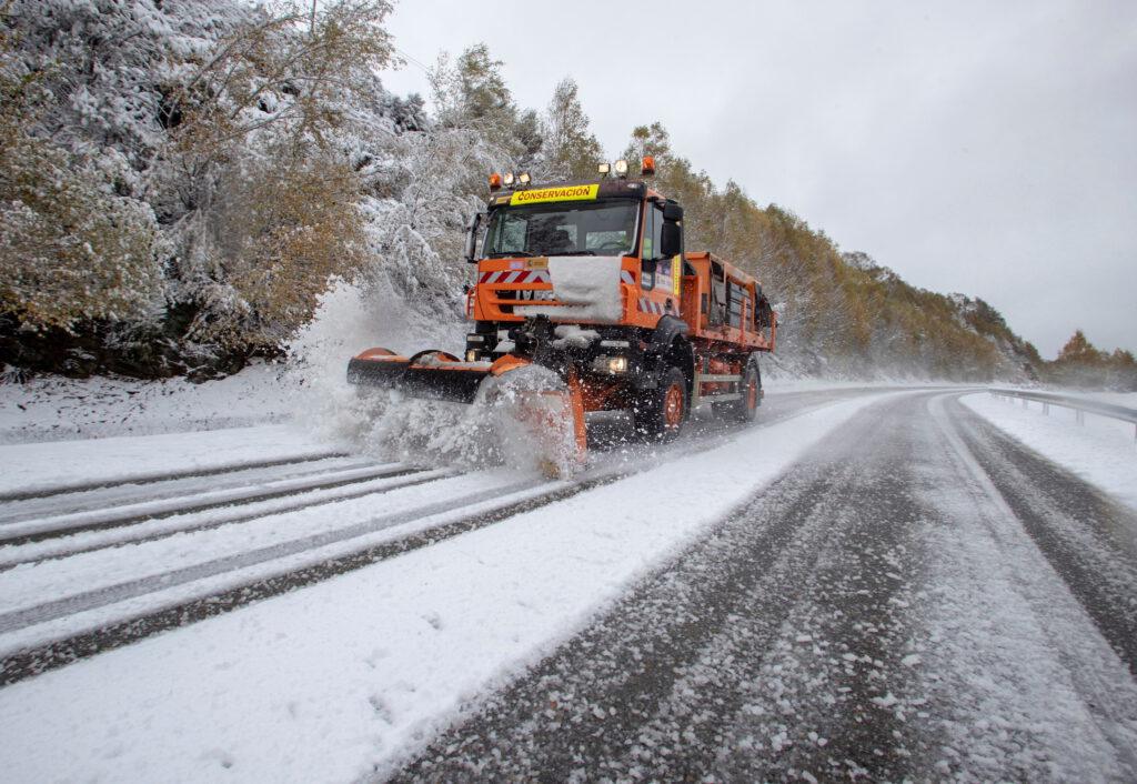 Sneeuw in Spanje
