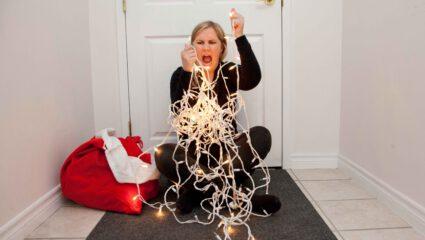 kerstlichtjes stress