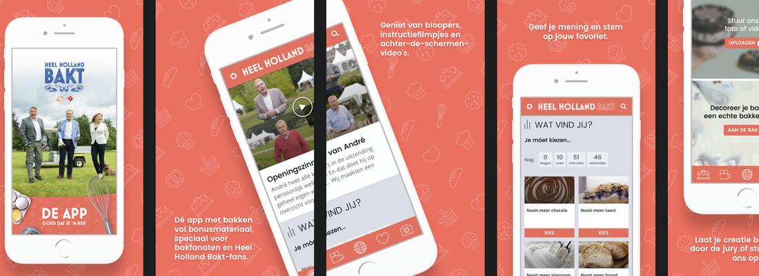 Heel Holland Bakt app
