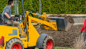graven in de tuin