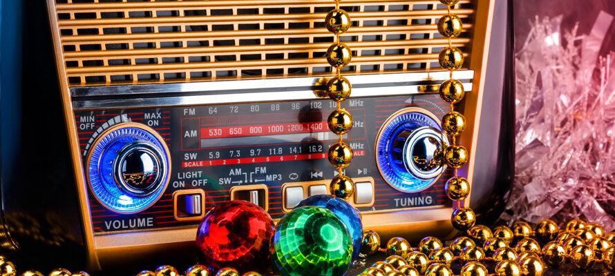 MAX op de radio met Kerst