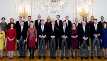 de koning en zijn kabinet