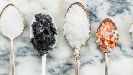 keukenzout en zeezout