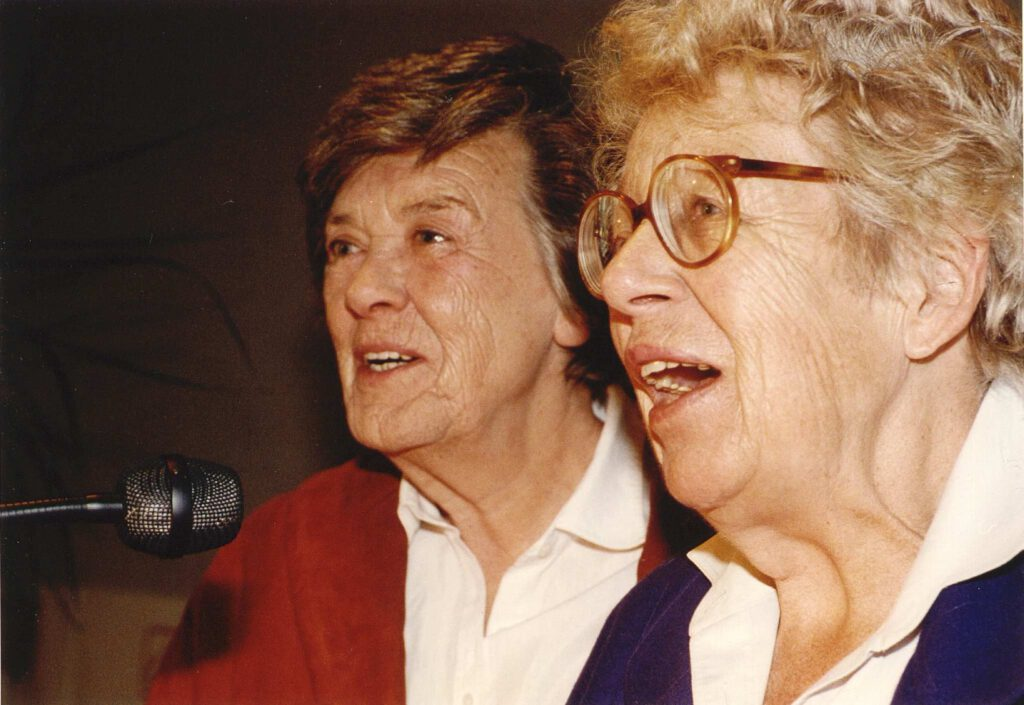 Annie M.G. Schmidt en Fiep Westerdorp.