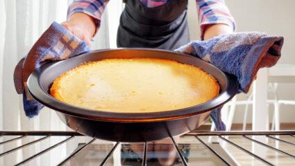Ovendeur open tijdens het bakken of niet?