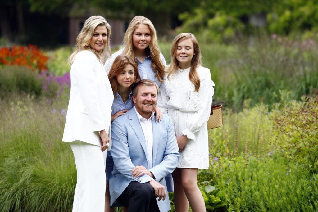 Fotosessie koninklijk gezin