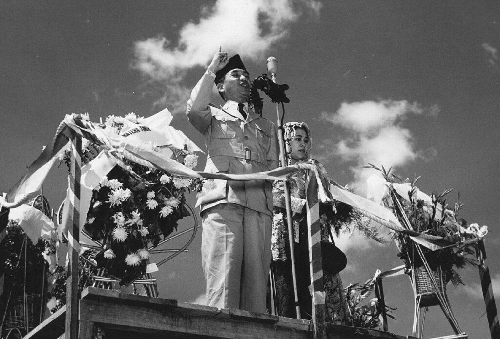 Soekarno in 1950