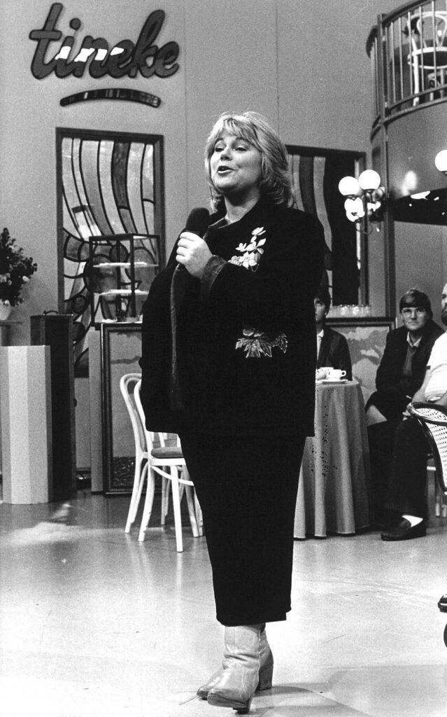 Tineke in 1984