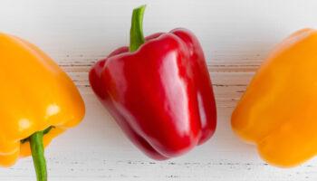 verschillende soorten paprika's