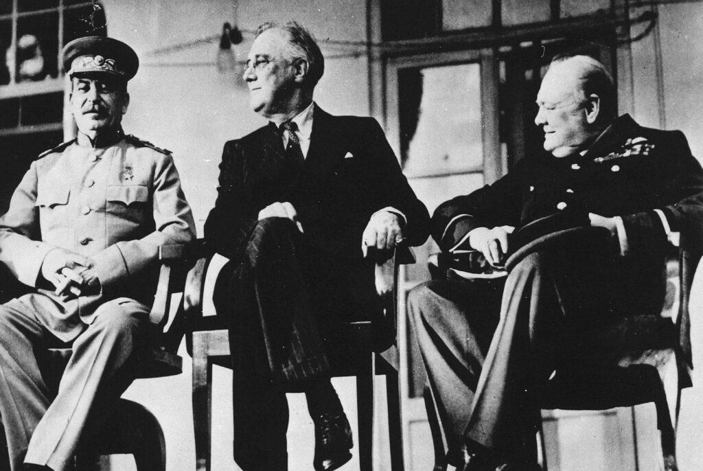 Stalin, Roosevelt, Churchill