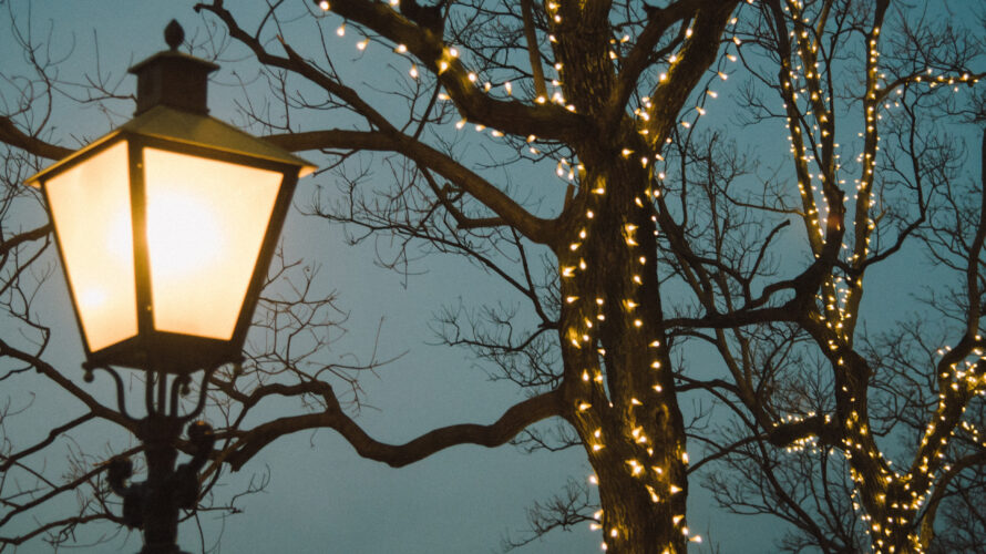 wintertijd sfeerverlichting