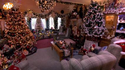 Koen op de Kerstkaar, kerstverlichting