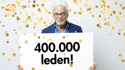 400.000 leden Omroep MAX