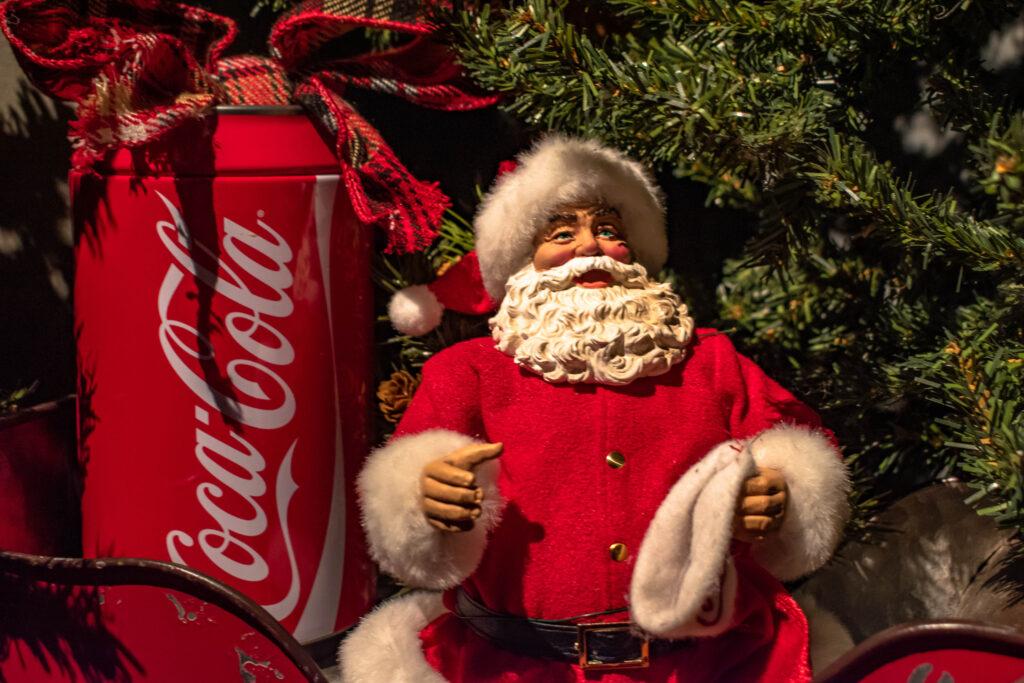 Kerstman Coca-Cola