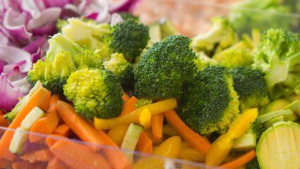 voorgesneden groente