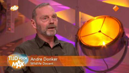André Donker over edelhert en vlinders