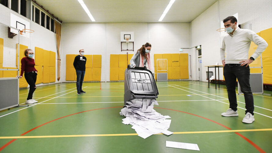 verkiezingsuitslag