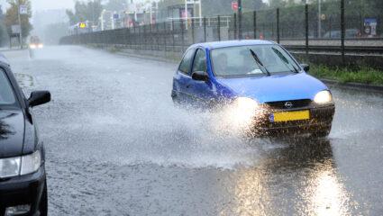 rijden bij storm