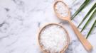schoonmaken zout
