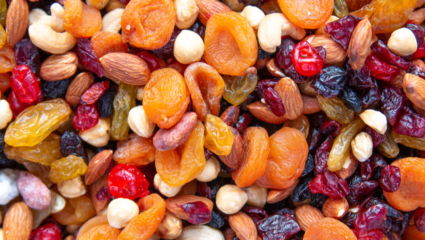 gedroogd fruit gezond