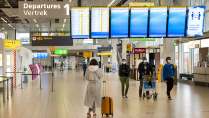quarantaine na aankomst in Nederland