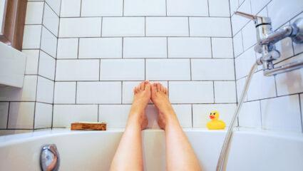 In bad gaan