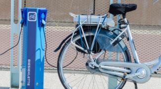 elektrische fiets opladen