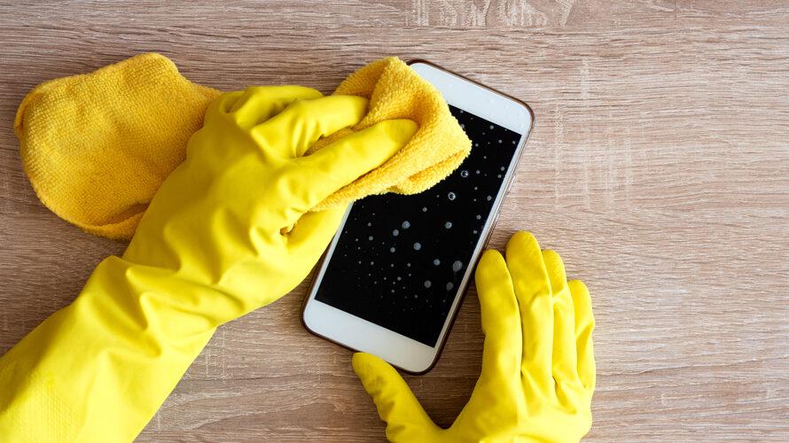 Telefoon veilig schoonmaken
