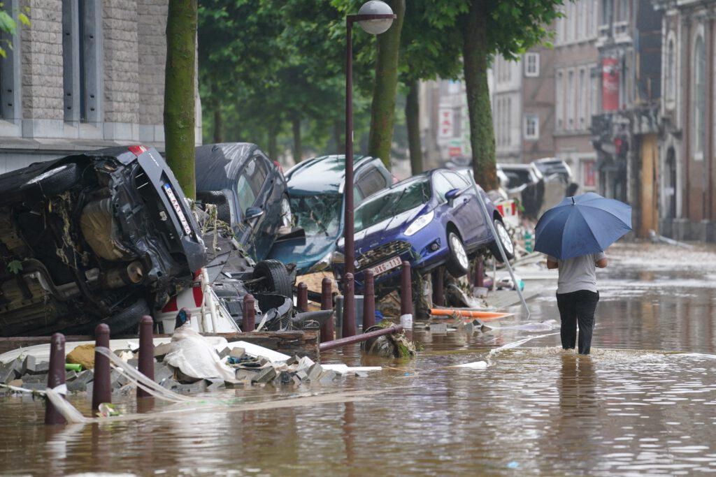 wateroverlast België