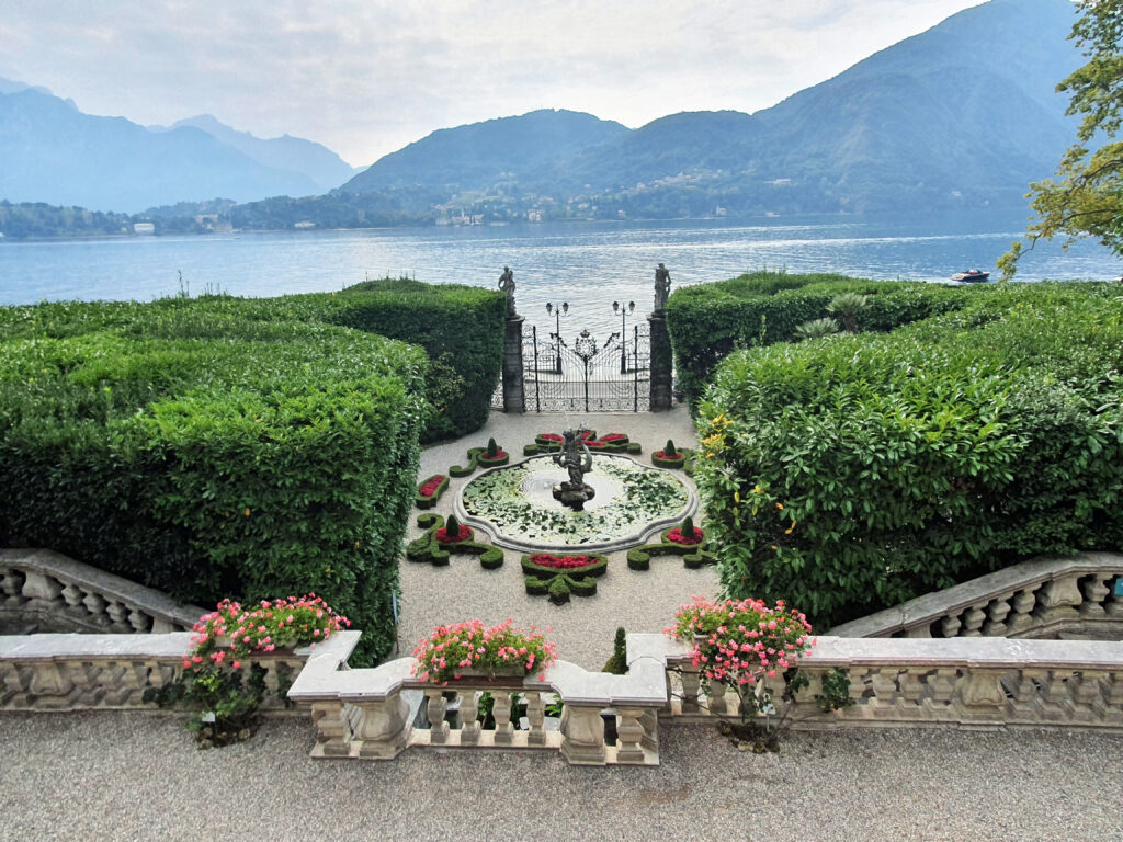 Uitzicht Villa Carlotta
