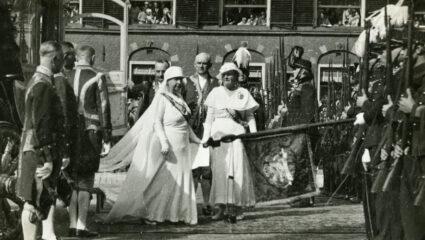 Prinsjesdag jurk Wilhelmina