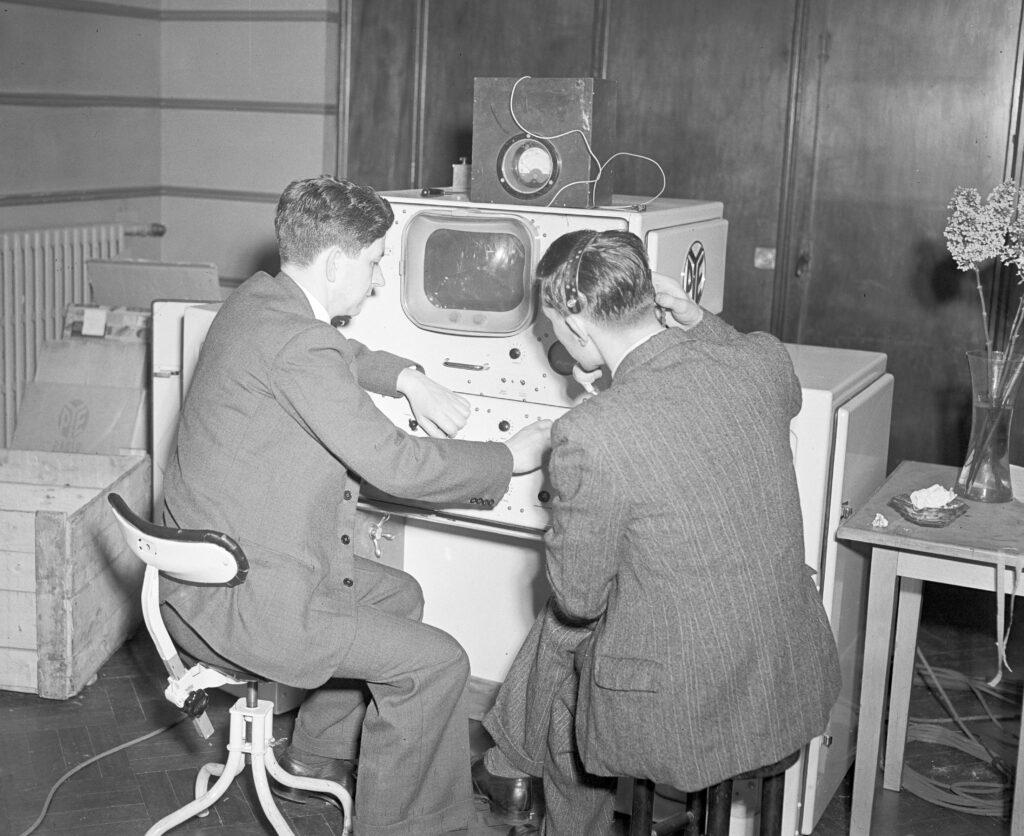 televisie-uitzending