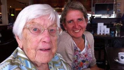 Mieke en haar oma