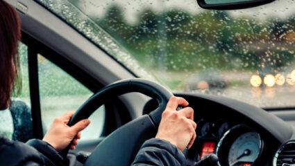 rijden als het regent