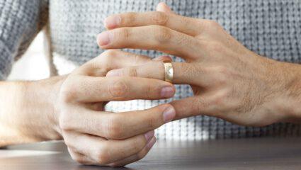 Vastzittende ring