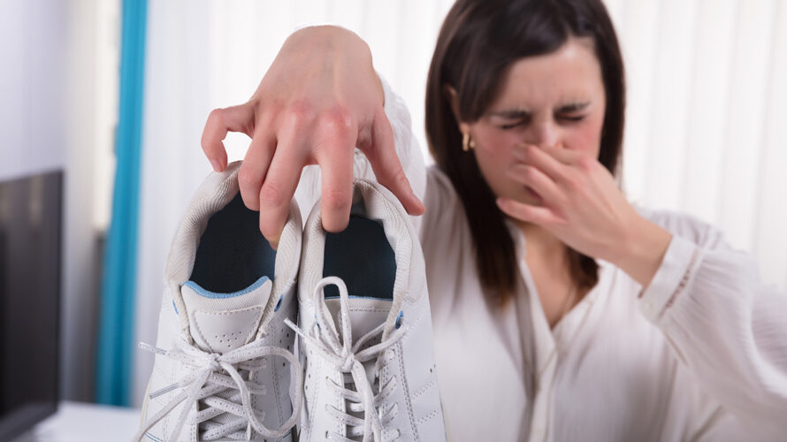 stinkende schoenen